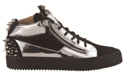 Giuseppe Zanotti Mid-top Sneakers With Studs