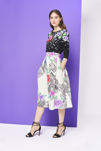 Leonard Embroidered Top BREE & Skirt MANY