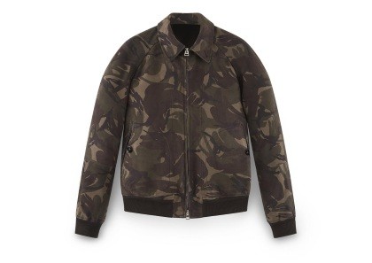 TOM FORD NUBUCK CAMOUFLAGE SARTORIAL JACKET