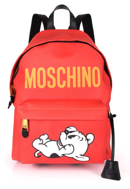Moschino 2018 Spring Summer Backpack