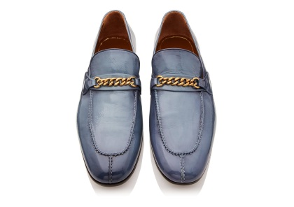 TOM FORD Patent Peer Chain Loafer