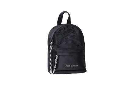 Juicy Couture Delta Black Patin Backpack