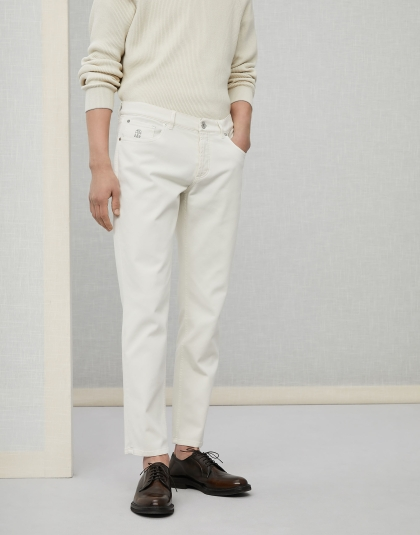 Brunello Cucinelli Lightweight comfort cotton denim
