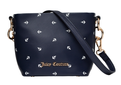 Juicy Couture Navy Soft Grab Crossbody