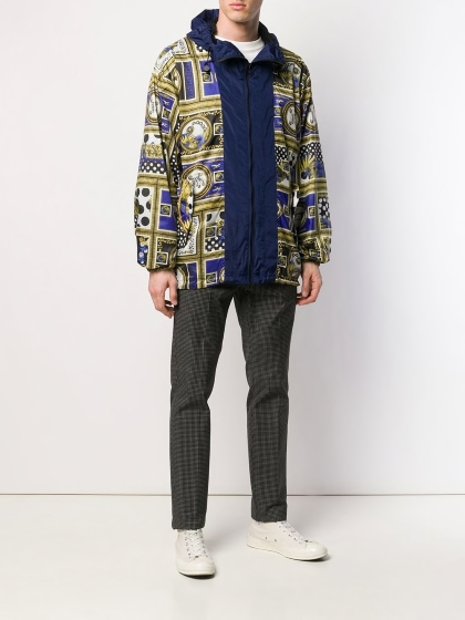 Versus Patchwork zipped jacket