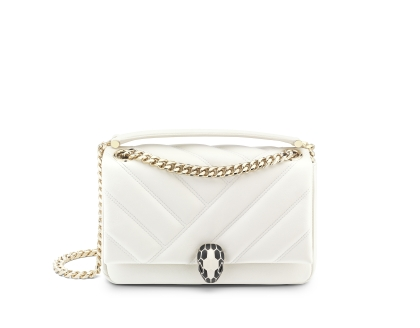 Bvlgari Serpenti Cabochon shoulder bag