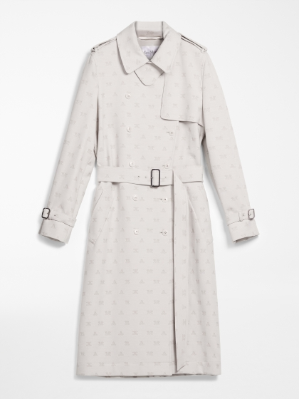 Max Mara cotton mixed trench coat