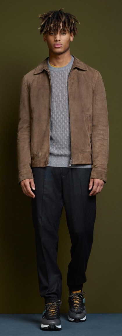 Ermenegildo Zegna Leather Outerwear