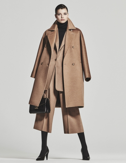 Max Mara 100% camel wool coat