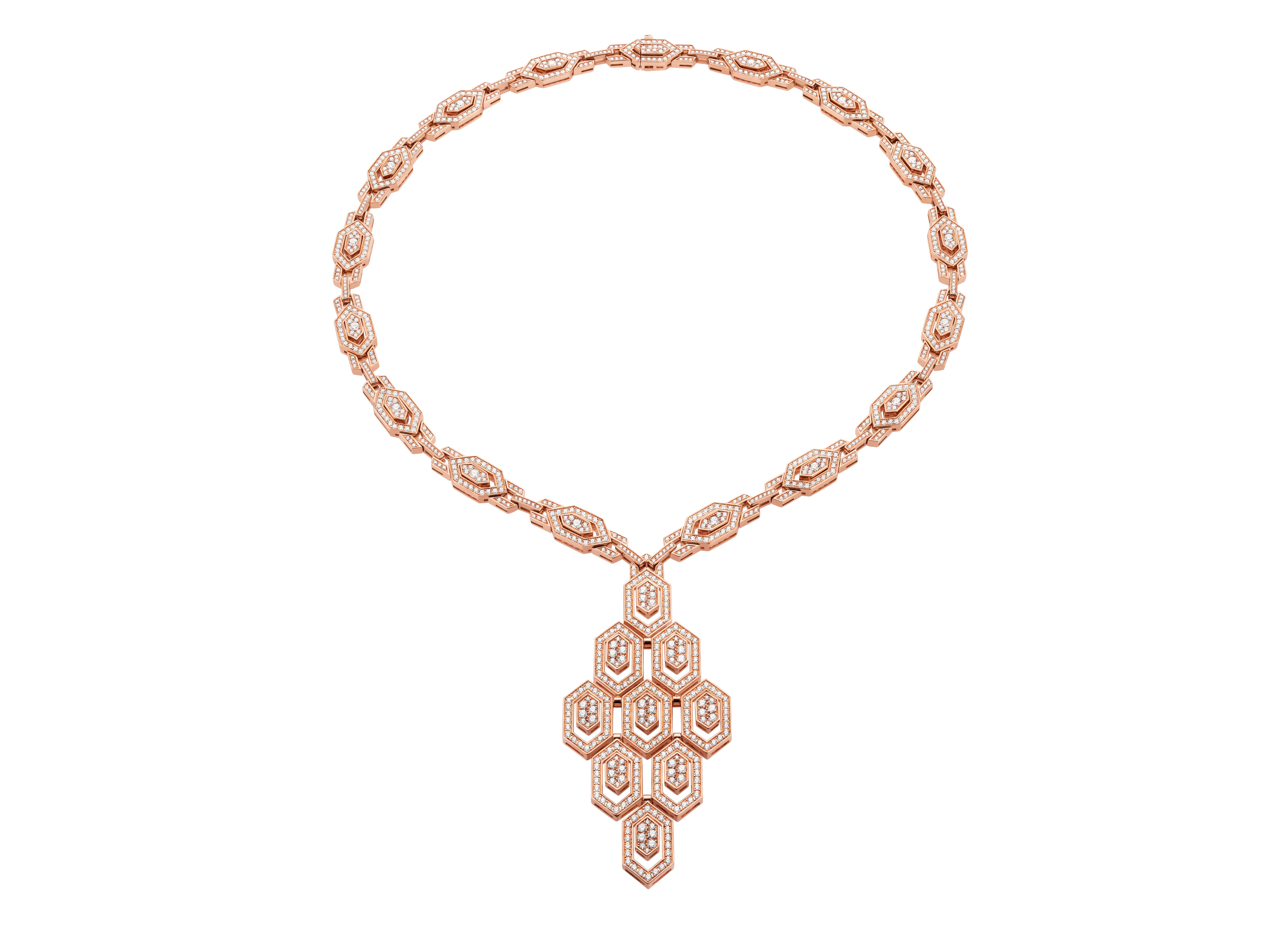 BVLGARI Serpenti 18 KT Rose Gold Necklace