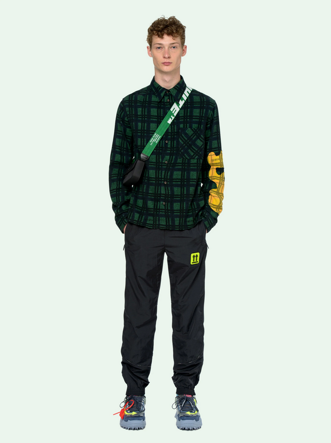 Off-White Melt Flannel Shirt