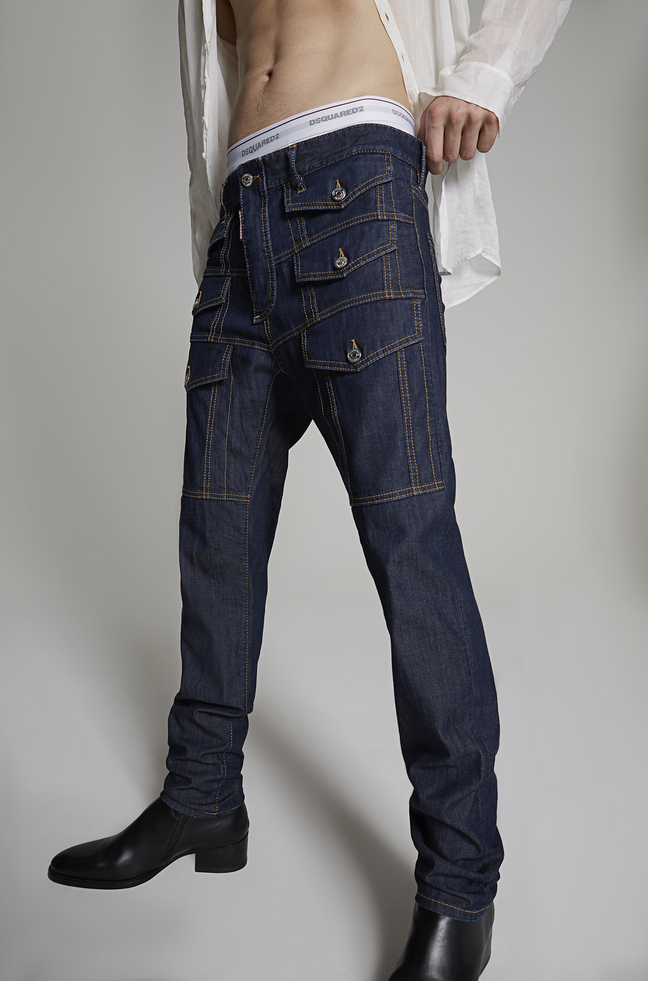 Dsquared² Cool Guy pocket jeans