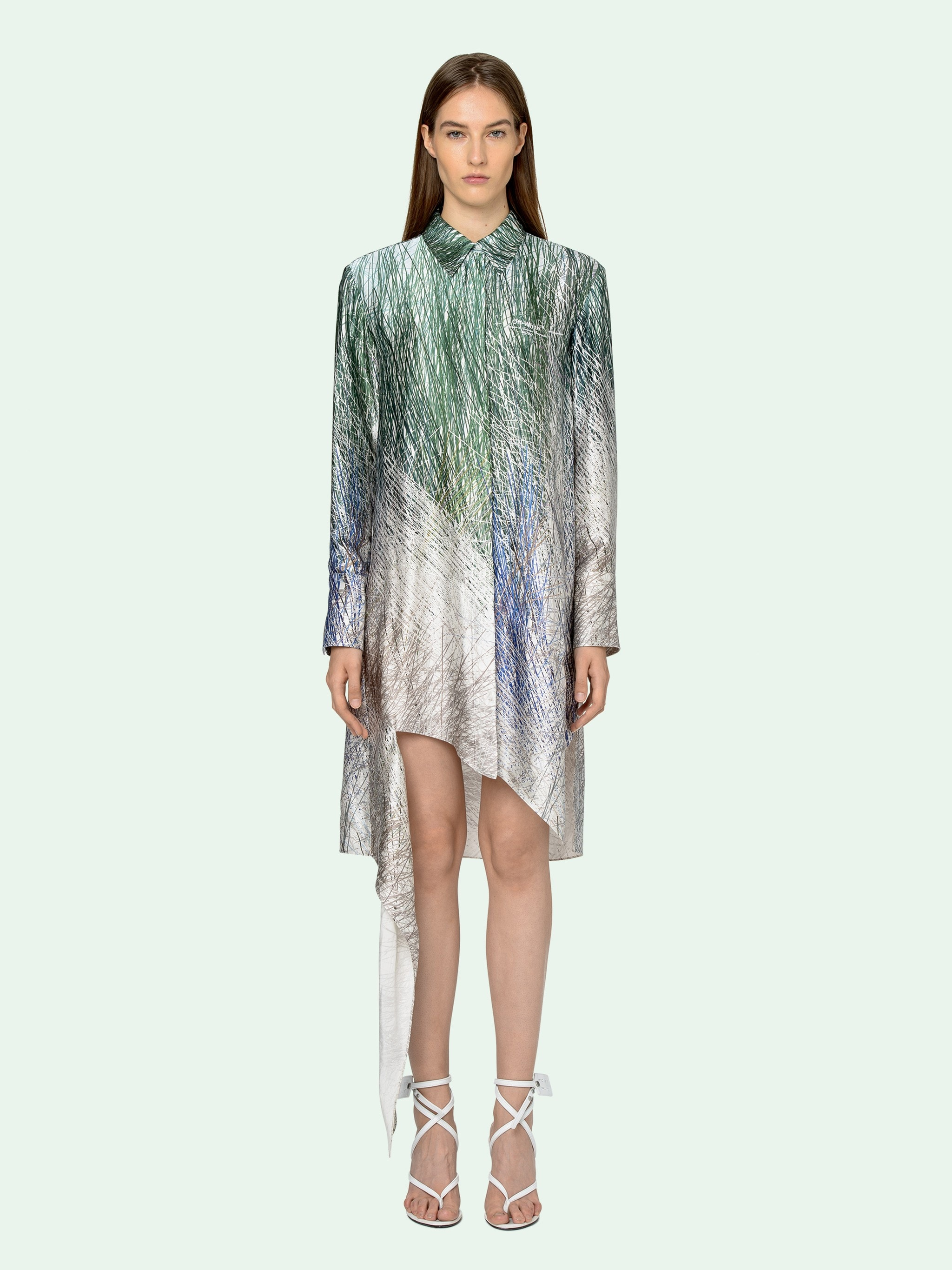 Off-White™ BOUROULLEC SPIRAL SHIRT DRESS