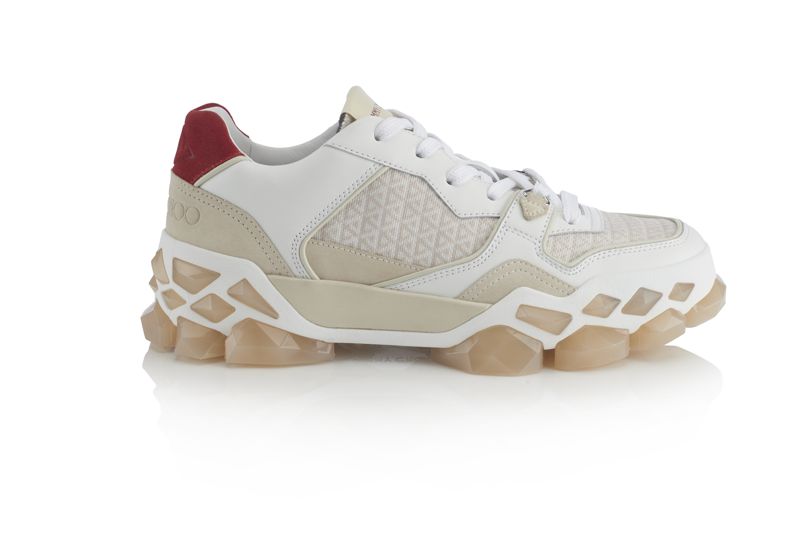 Jimmy Choo DIAMOND X TRAINER - COTTON MIX