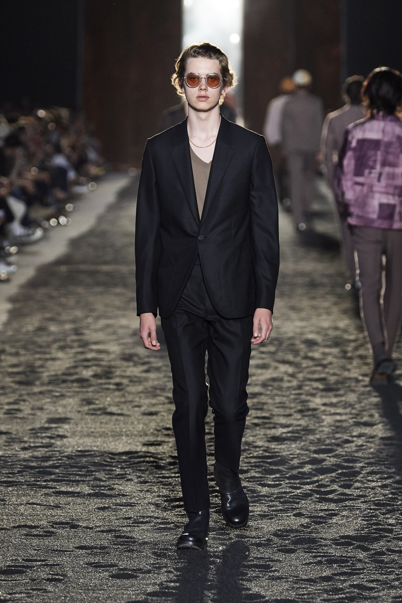 Ermenegildo Zegna Matt Black suit