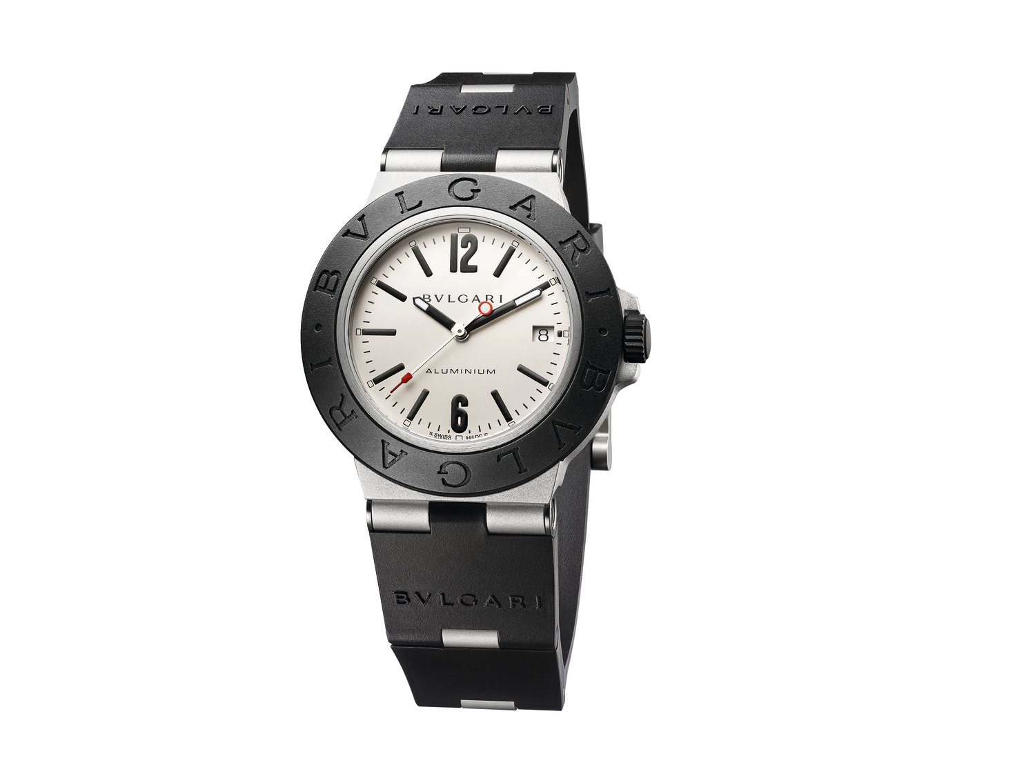 BVLGARI Bvlgari Aluminium watch with